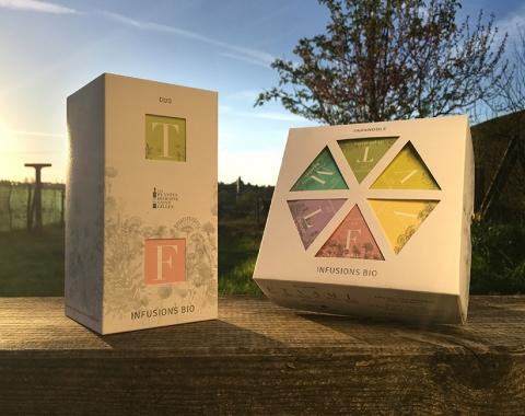 Duo et Pyramide Plantes Domaine Saint-Gilles